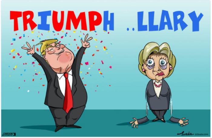 Η νίκη του Τραμπ σε 14 καυστικά σκίτσα από όλον τον κόσμο - εικόνα 6