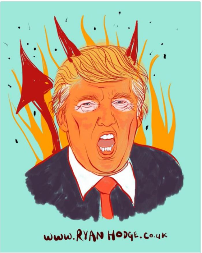 Η νίκη του Τραμπ σε 14 καυστικά σκίτσα από όλον τον κόσμο - εικόνα 10