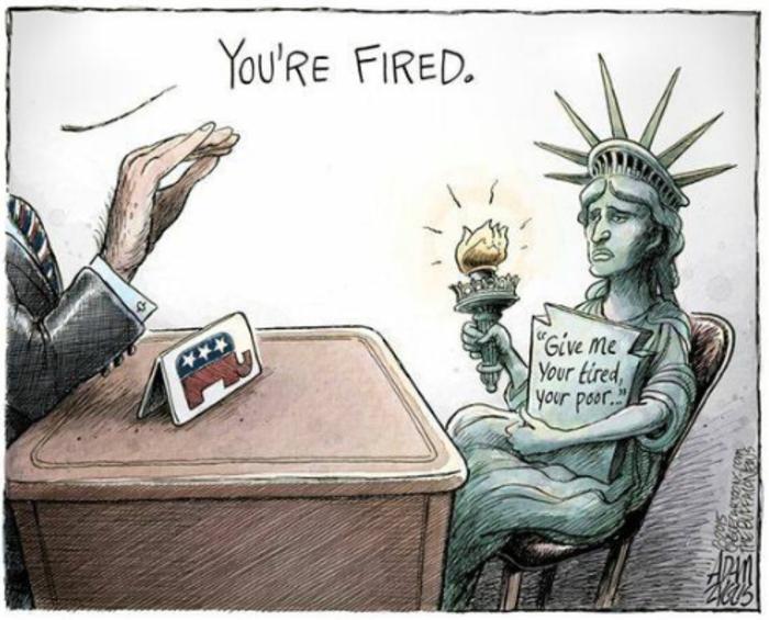 Η νίκη του Τραμπ σε 14 καυστικά σκίτσα από όλον τον κόσμο - εικόνα 13