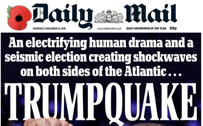 Παγκόσμιο σοκ στον ξένο Τύπο για την εκλογή Τραμπ