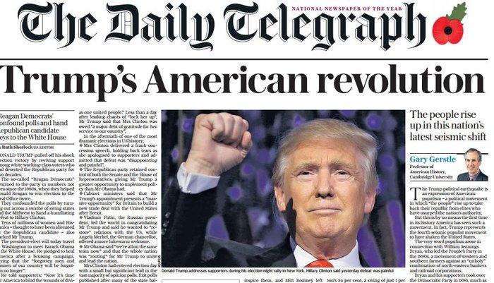 Παγκόσμιο σοκ στον ξένο Τύπο για την εκλογή Τραμπ - εικόνα 4