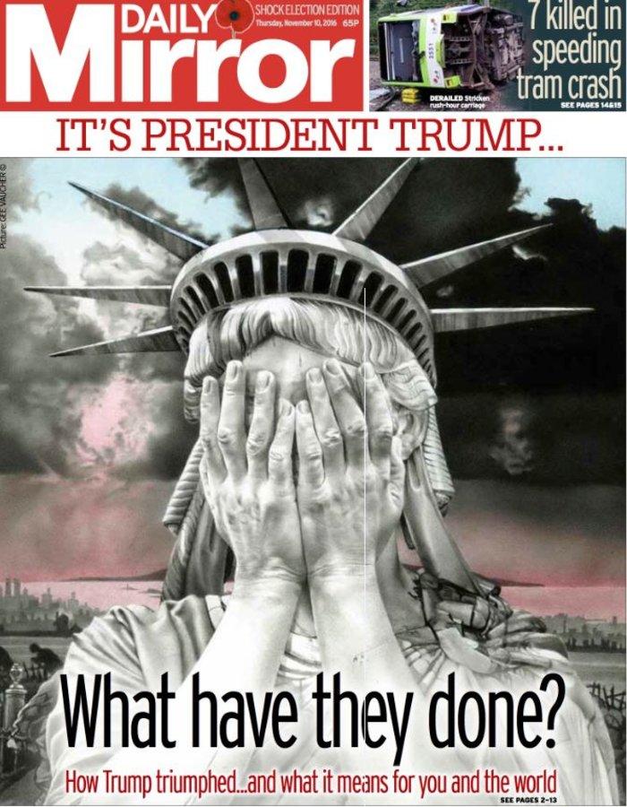 Παγκόσμιο σοκ στον ξένο Τύπο για την εκλογή Τραμπ - εικόνα 5