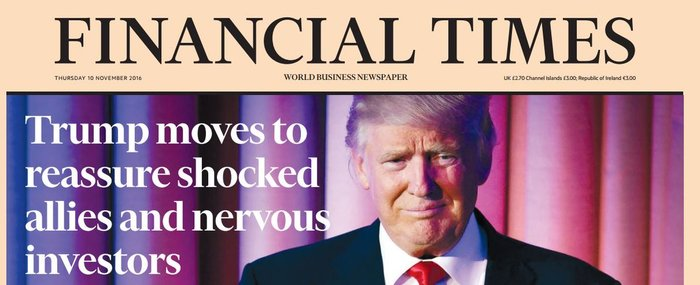 Παγκόσμιο σοκ στον ξένο Τύπο για την εκλογή Τραμπ - εικόνα 6