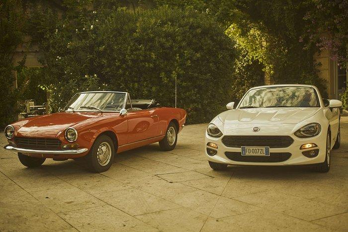 To Fiat Spider 124 έκλεισε τα 50 και γιορτάζει! - εικόνα 3