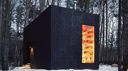 Ένα εκπληκτικό χειμωνιάτικο καταφύγιο στη Νορβηγία - φωτό -