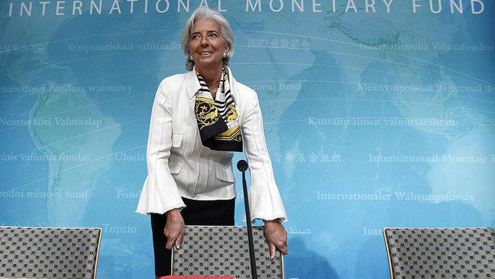 Η γενικής διευθύντρια του ΔΝΤ Κριστίν Λαγκάρντ