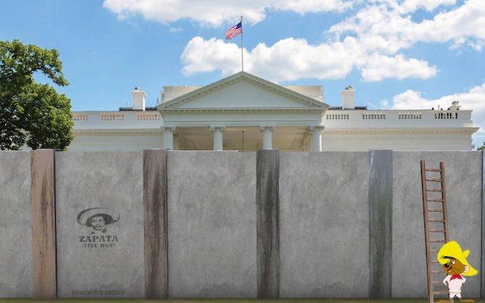 Απίστευτο:Αυτός είναι ο Λευκός Οίκος του Ντόναλντ Τραμπ