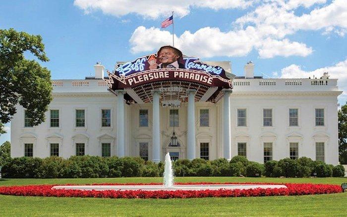 Απίστευτο:Αυτός είναι ο Λευκός Οίκος του Ντόναλντ Τραμπ - εικόνα 2