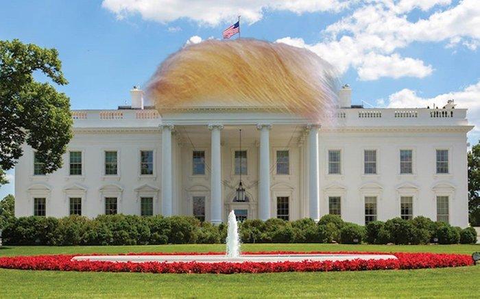 Απίστευτο:Αυτός είναι ο Λευκός Οίκος του Ντόναλντ Τραμπ - εικόνα 3