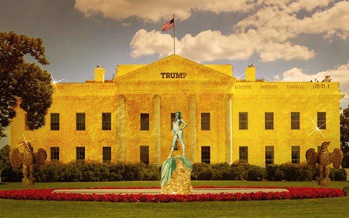 Απίστευτο:Αυτός είναι ο Λευκός Οίκος του Ντόναλντ Τραμπ - εικόνα 6