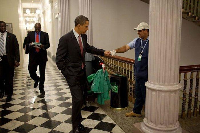 Οι 30 πιο απρόβλεπτες φωτογραφίες του Μπαράκ Ομπάμα - εικόνα 5