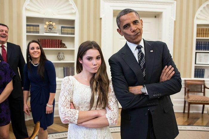 Οι 30 πιο απρόβλεπτες φωτογραφίες του Μπαράκ Ομπάμα - εικόνα 9