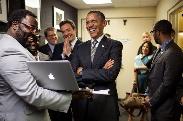 Οι 30 πιο απρόβλεπτες φωτογραφίες του Μπαράκ Ομπάμα - εικόνα 16