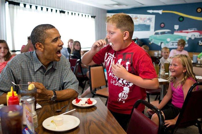 Οι 30 πιο απρόβλεπτες φωτογραφίες του Μπαράκ Ομπάμα - εικόνα 2