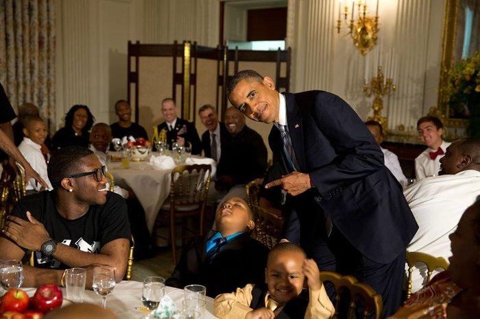 Οι 30 πιο απρόβλεπτες φωτογραφίες του Μπαράκ Ομπάμα - εικόνα 3