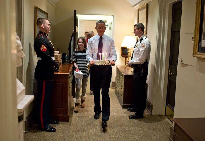 Οι 30 πιο απρόβλεπτες φωτογραφίες του Μπαράκ Ομπάμα - εικόνα 22
