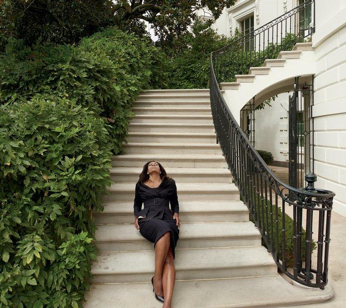 Η Μ.Ομπάμα στη Vogue:«Αντίο» σε Λευκό Οίκο με μια συγκλονιστική φωτογράφηση
