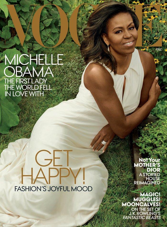 Η Μ.Ομπάμα στη Vogue:«Αντίο» σε Λευκό Οίκο με μια συγκλονιστική φωτογράφηση - εικόνα 4