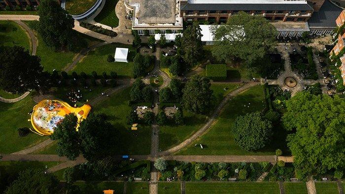 Ενα εναλλακτικό φουσκωτό περίπτερο στην καρδιά του Λονδίνου - εικόνα 12