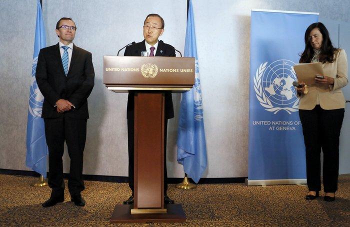O ΓΓ του ΟΗΕ Μπαν Κι Μουν
