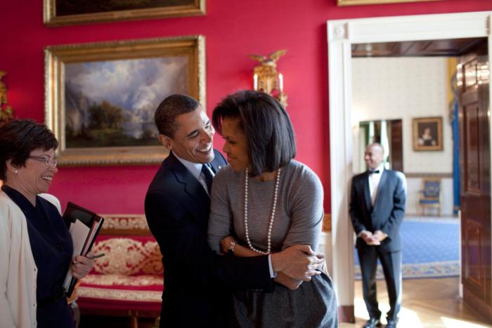 Μπαράκ και Μισέλ: Ενα love story μέσα από 12 καρέ - εικόνα 3