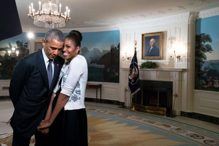 Μπαράκ και Μισέλ: Ενα love story μέσα από 12 καρέ - εικόνα 11