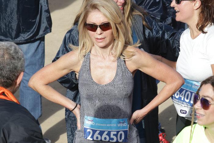 Η Έλλη Στάη στον 34ο Μαραθώνιο: «Προπονήθηκε» για το TheTOC Merrython
