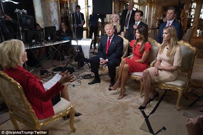 Η πρώτη συνέντευξη της Mελάνια Τραμπ: H ειρωνική ερώτηση και η γκάφα της