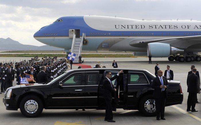 Ο Ομπάμα στην Αθήνα: Καρέ καρέ η άφιξη του 44ου Προέδρου της Αμερικής - εικόνα 19