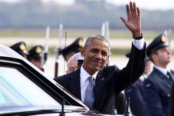 Ο Ομπάμα στην Αθήνα: Καρέ καρέ η άφιξη του 44ου Προέδρου της Αμερικής - εικόνα 15