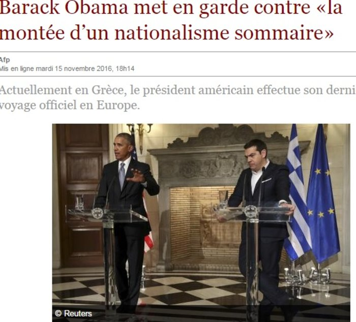 Ξένα ΜΜΕ: Ο Ομπάμα αποχαιρετά την Ευρώπη από την Αθήνα - εικόνα 6