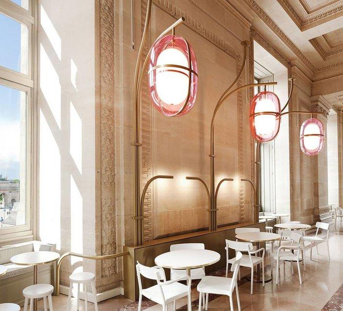 Αυτό είναι το νέο, ανακαινισμένο, cafe του Μουσείου του Λούβρου - εικόνα 3