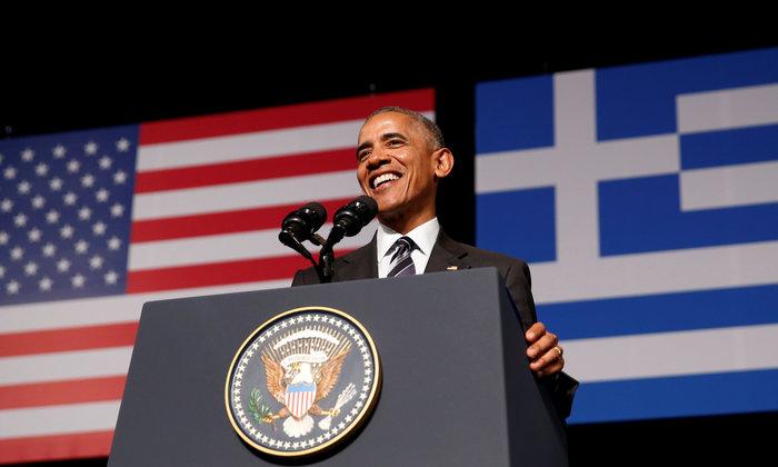 Καρέ καρέ η συγκλονιστική εμφάνιση του Ομπάμα στο Σταύρος Νιάρχος - εικόνα 3
