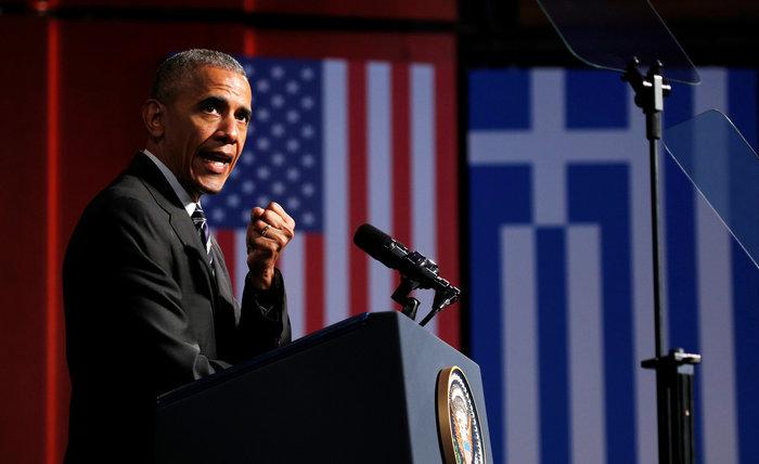 Καρέ καρέ η συγκλονιστική εμφάνιση του Ομπάμα στο Σταύρος Νιάρχος - εικόνα 4