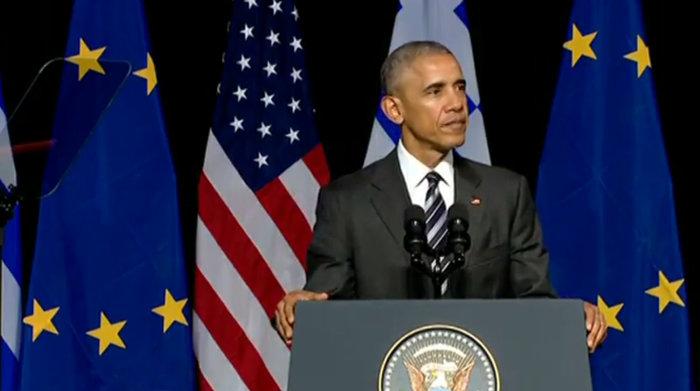 Καρέ καρέ η συγκλονιστική εμφάνιση του Ομπάμα στο Σταύρος Νιάρχος - εικόνα 8