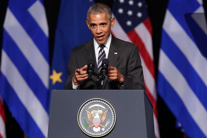 Καρέ καρέ η συγκλονιστική εμφάνιση του Ομπάμα στο Σταύρος Νιάρχος - εικόνα 9