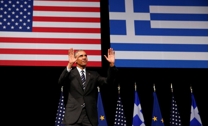 Καρέ καρέ η συγκλονιστική εμφάνιση του Ομπάμα στο Σταύρος Νιάρχος - εικόνα 10