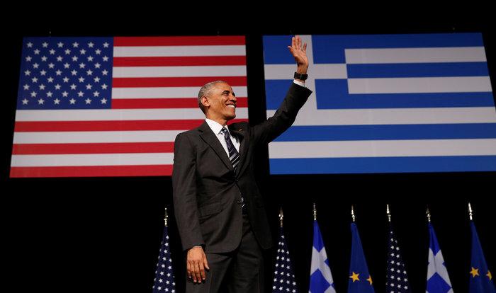Καρέ καρέ η συγκλονιστική εμφάνιση του Ομπάμα στο Σταύρος Νιάρχος - εικόνα 11