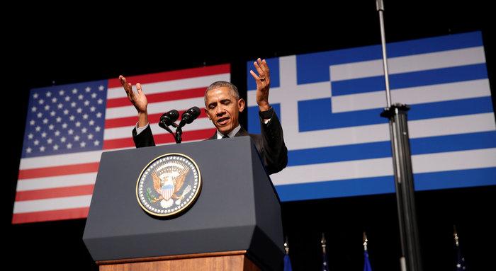 Καρέ καρέ η συγκλονιστική εμφάνιση του Ομπάμα στο Σταύρος Νιάρχος - εικόνα 2