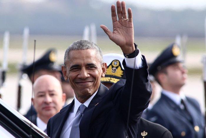 Οι 30 ώρες του Μπαράκ Ομπάμα στην Αθήνα σε 30 φωτογραφίες - εικόνα 2