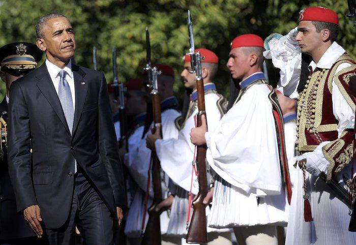 Οι 30 ώρες του Μπαράκ Ομπάμα στην Αθήνα σε 30 φωτογραφίες - εικόνα 4