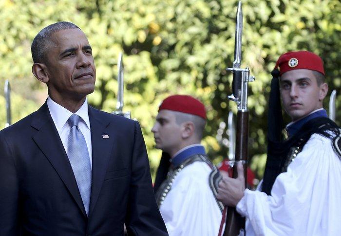 Οι 30 ώρες του Μπαράκ Ομπάμα στην Αθήνα σε 30 φωτογραφίες - εικόνα 5