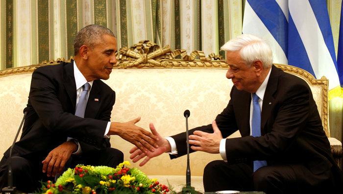 Οι 30 ώρες του Μπαράκ Ομπάμα στην Αθήνα σε 30 φωτογραφίες - εικόνα 6