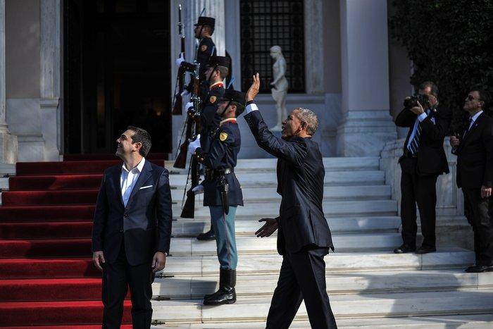 Οι 30 ώρες του Μπαράκ Ομπάμα στην Αθήνα σε 30 φωτογραφίες - εικόνα 7