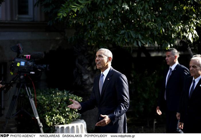 Οι 30 ώρες του Μπαράκ Ομπάμα στην Αθήνα σε 30 φωτογραφίες - εικόνα 8