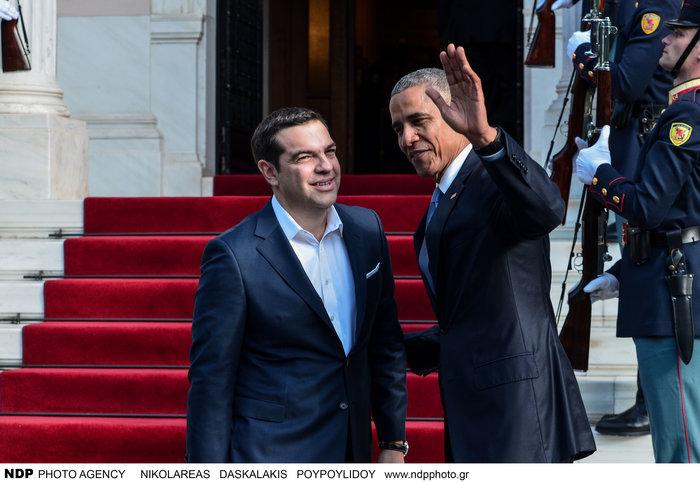 Οι 30 ώρες του Μπαράκ Ομπάμα στην Αθήνα σε 30 φωτογραφίες - εικόνα 9