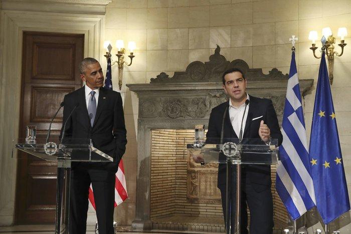 Οι 30 ώρες του Μπαράκ Ομπάμα στην Αθήνα σε 30 φωτογραφίες - εικόνα 13