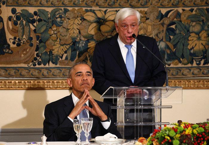 Οι 30 ώρες του Μπαράκ Ομπάμα στην Αθήνα σε 30 φωτογραφίες - εικόνα 14
