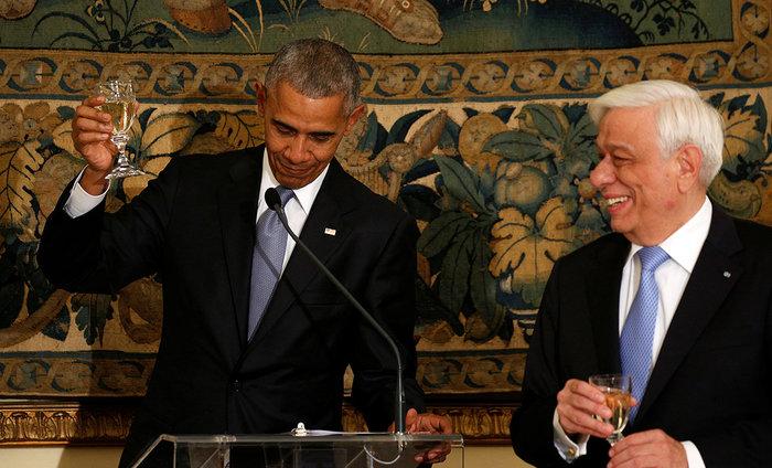 Οι 30 ώρες του Μπαράκ Ομπάμα στην Αθήνα σε 30 φωτογραφίες - εικόνα 15