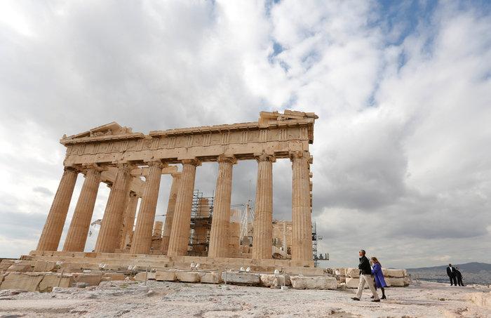 Οι 30 ώρες του Μπαράκ Ομπάμα στην Αθήνα σε 30 φωτογραφίες - εικόνα 17